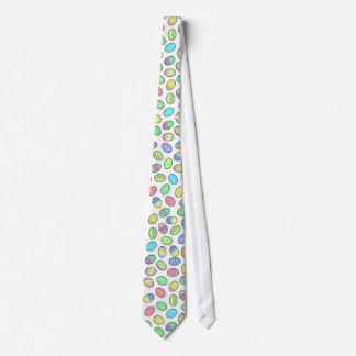 Copie en pastel d'oeufs de pâques cravates