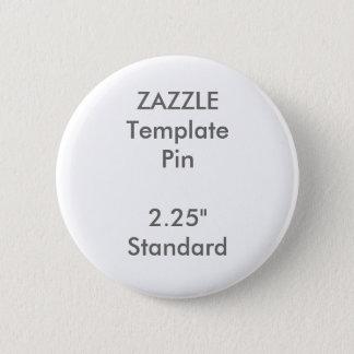 """Copie faite sur commande 2,25"""" modèle vide rond de badges"""