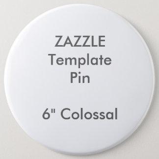 """Copie faite sur commande 6"""" modèle vide de Pin de Pin's"""