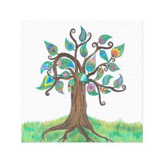 Copie fantaisie de toile d'arbre