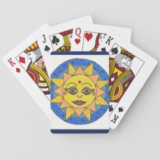 Copie folle de toile étirée par Paisley Cartes À Jouer