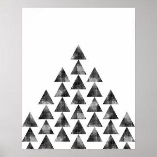 Copie géométrique minimaliste moderne d'art de posters