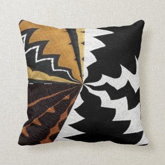Copie graphique africaine contemporaine oreiller