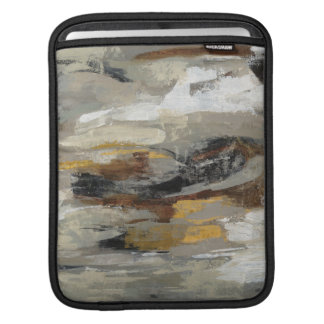 Copie grise abstraite | Silvia Vassileva de neutre Poches iPad