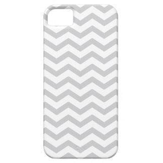 Copie grise et blanche de Chevron Coque iPhone 5