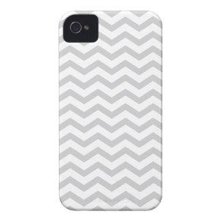 Copie grise et blanche de Chevron Étuis iPhone 4
