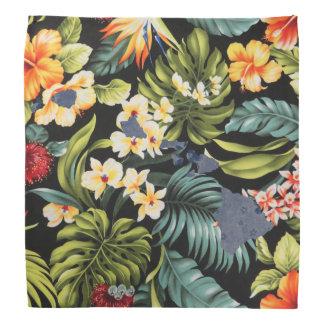 Copie hawaïenne et Bandana floral d'état de Hawai