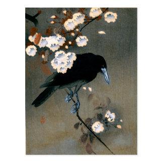 Copie japonaise vintage de bois de graveur de carte postale