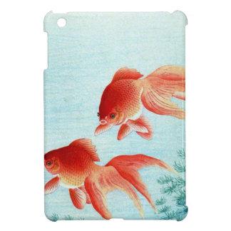 Copie japonaise vintage de poissons coque iPad mini