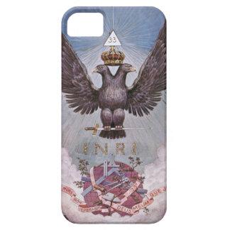 Copie maçonnique vintage iPhone 5 case