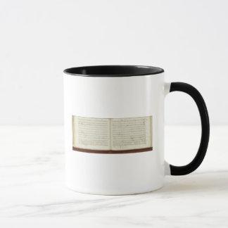 Copie manuscrite 'du Flute magique Mug