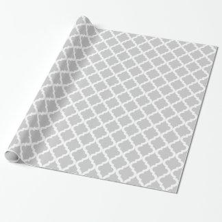 Copie marocaine gris-clair papier cadeau