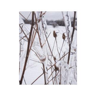 Copie Michigan d'art de toile de photo de tempête