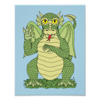 Copie mignonne de dragon photographies