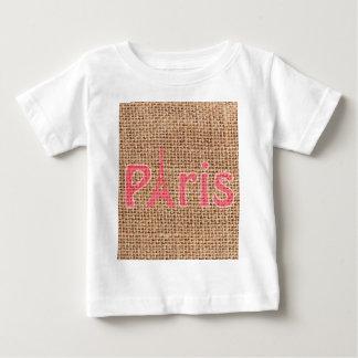 Copie mignonne de Tour Eiffel de Paris de rose de T-shirt