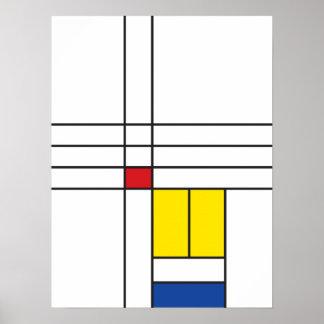 Copie minimaliste d'affiche d'art de mur de affiche