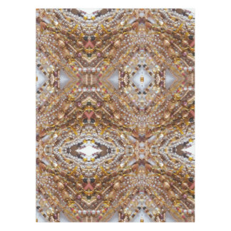 Copie naturelle de perles d'Earthtones de nappe de