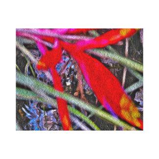 Copie Painterly abstraite de toile d'art de Toiles