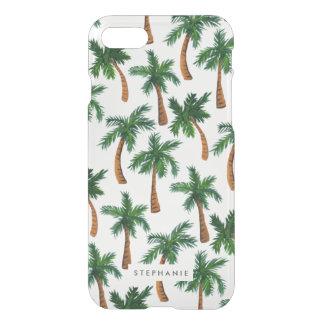 Copie personnalisée de palmier coque iPhone 7