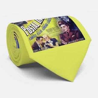 Copie postale d'affiche de film de l'inspecteur cravate