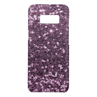 Copie pourpre de scintillement de Faux de lavande Coque Case-Mate Samsung Galaxy S8