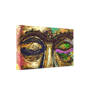 Copie psychédélique de toile d'art de bruit de toiles