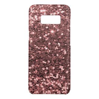 Copie rose moderne de scintillement de Faux d'or Coque Case-Mate Samsung Galaxy S8
