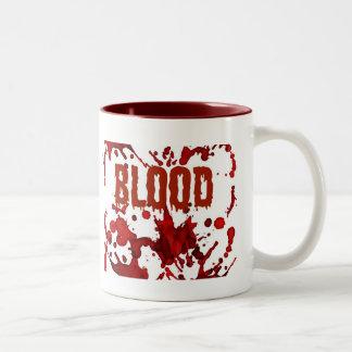 Copie ROUGE de Halloween de sang Tasse À Café