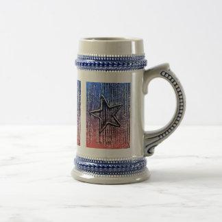 Copie rustique fraîche d'art de bruit d'étoile de chope à bière