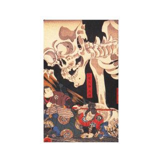 Copie squelettique de toile de Kuniyoshi Toiles