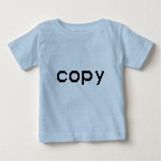 Copie T-shirt Pour Bébé