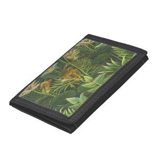 Copie tropicale d'art de lion de jungle de