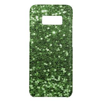 Copie verte de photo de scintillement de Faux Coque Case-Mate Samsung Galaxy S8