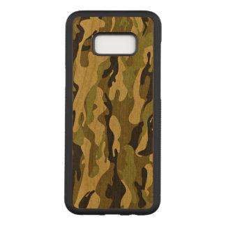 Copie verte militaire d'armée de camouflage coque samsung galaxy s8+ par carved