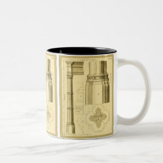 Copie vintage de beaux-arts de ~ d'architecture mug bicolore