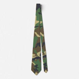 Copie vintage de camouflage cravates personnalisées