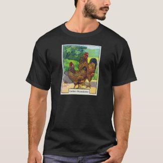 Copie vintage de poulet t-shirt