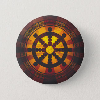 Copie vintage de roue de Dharma Badges