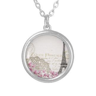 Copie vintage de Tour Eiffel de Paris Collier