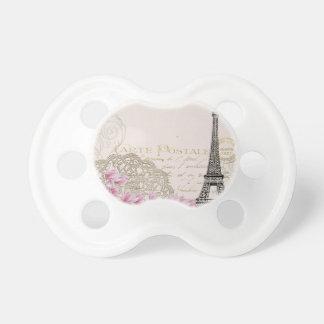 Copie vintage de Tour Eiffel de Paris Tétine