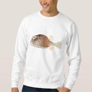 Copie vintage repérée de poissons de Trunkfish Sweatshirt
