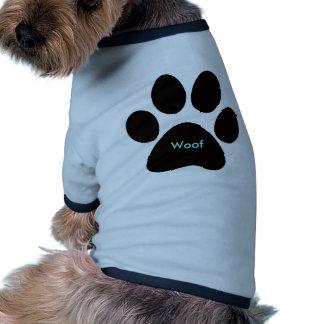 Copie Woof de patte Vêtement Pour Animal Domestique