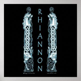 Copies celtiques d'art de Rhiannon Posters