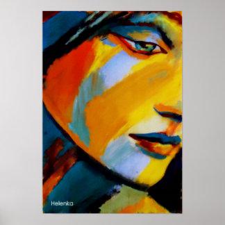Copies de beaux-arts - peintures colorées posters