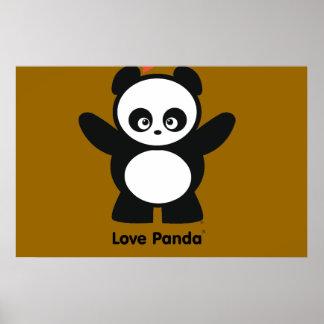 Copies de Panda® d amour Affiches