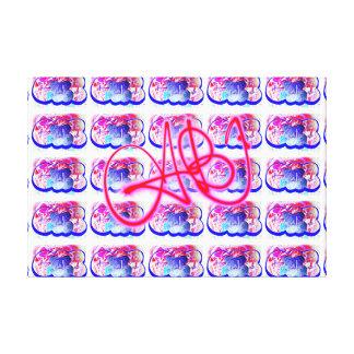 Copies graphiques de toile de timbre de cabine