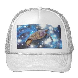 Copies hawaïennes d'art de tortue de mer casquette trucker