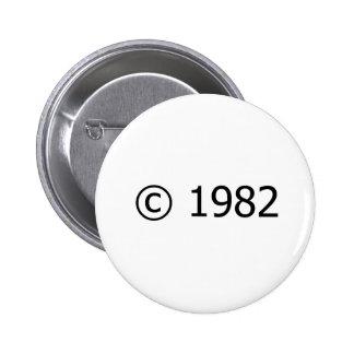 Copyright 1982 pin's