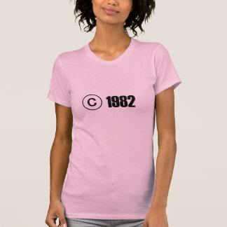 Copyright 1982 t-shirt