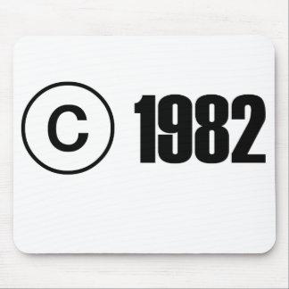 Copyright 1982 tapis de souris